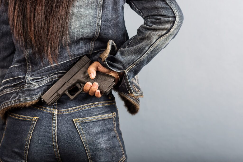 Are Women Who Carry Guns Safer